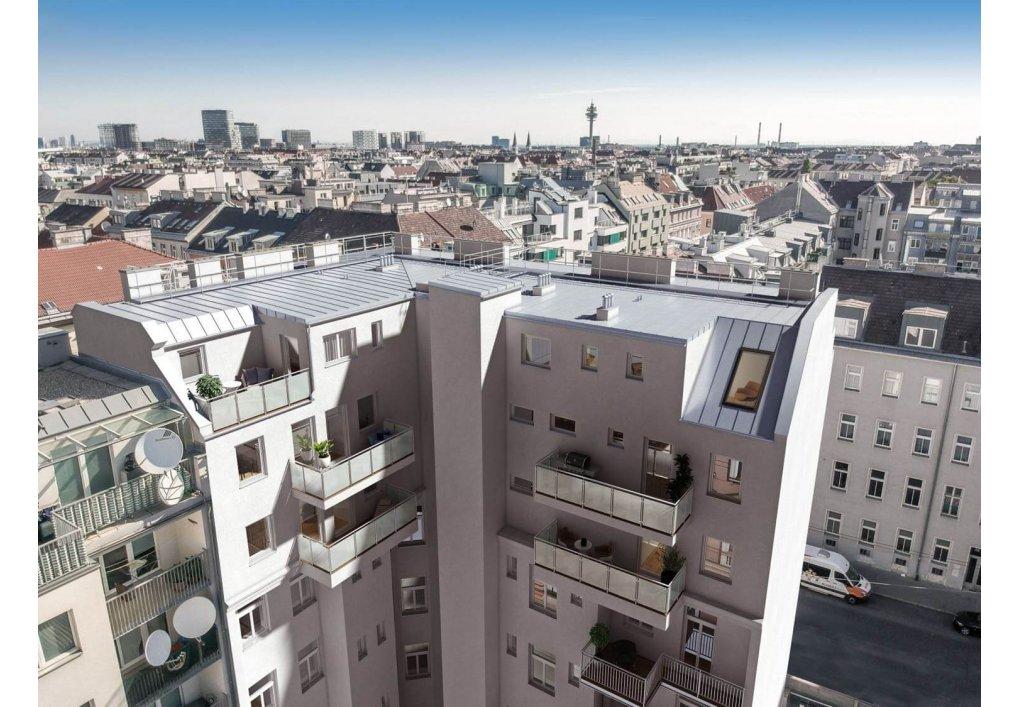 3D Visualisierung Außen Hofseitig