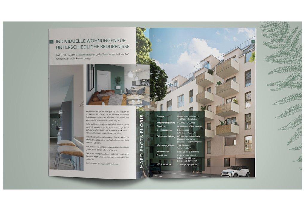 Branding LOGO FLORIS CORDES Werbeconsulting Agentur Wien