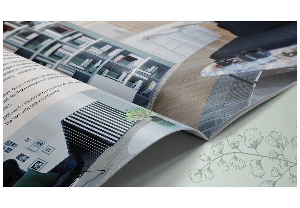 Folder Broschüre FLORIS CORDES Werbeconsulting Agentur Wien
