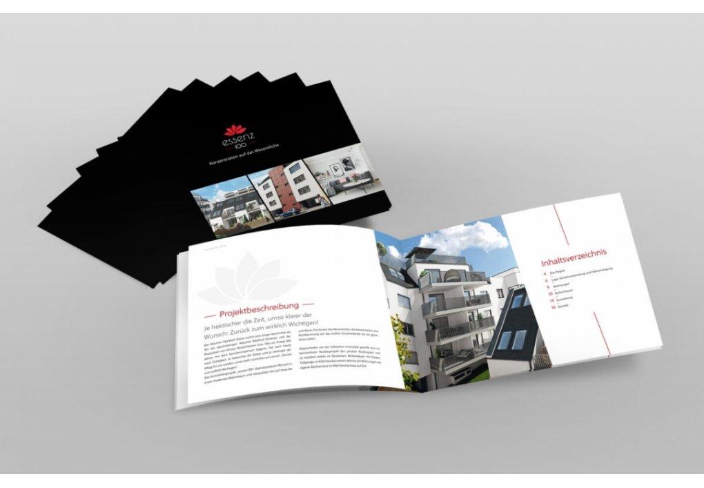 Broschüre, Projekt-Folder