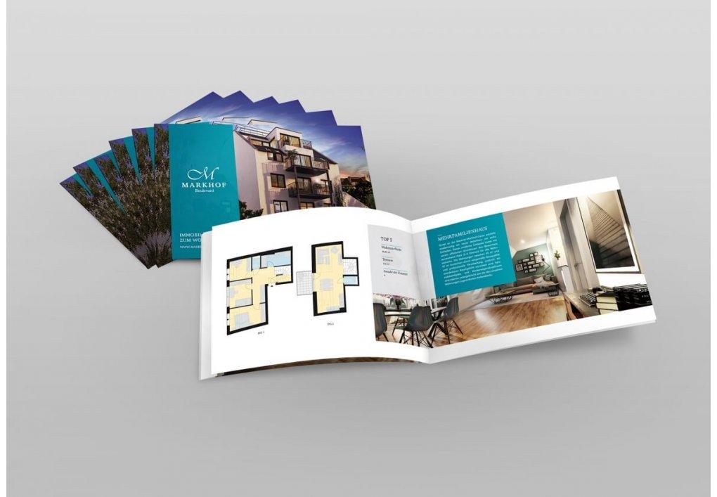 Broschüre Projekt-Folder