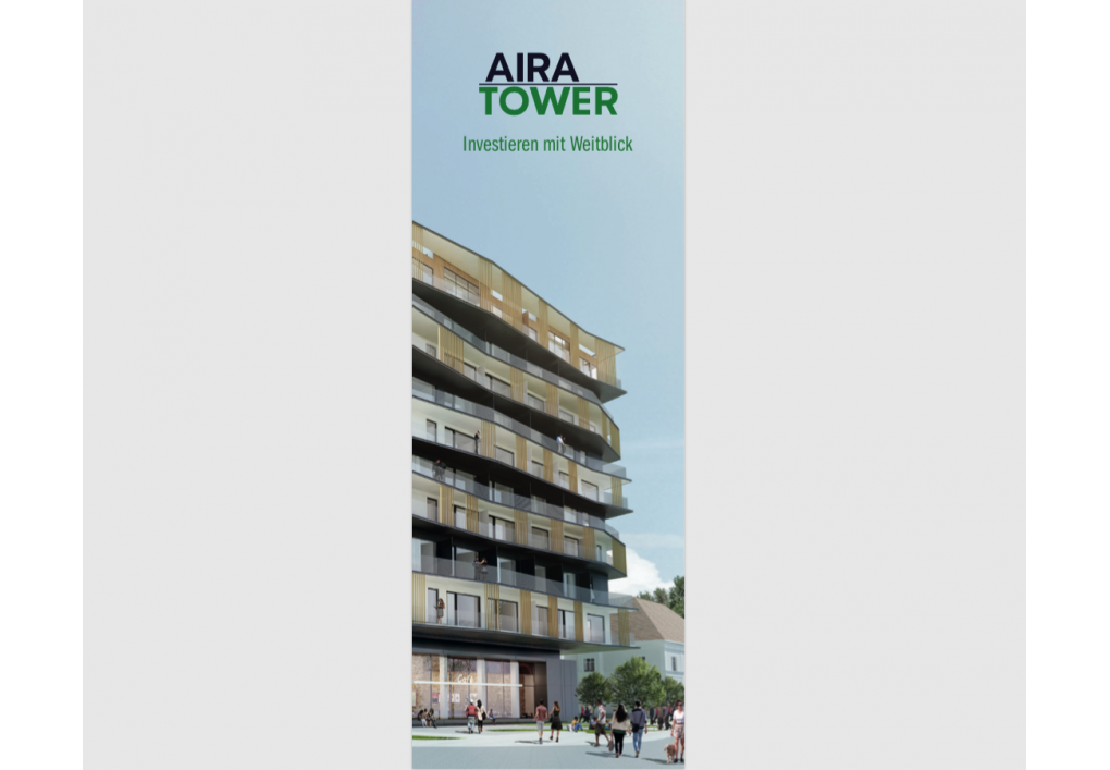 Imagemappe AIRA TOWER in Graz
