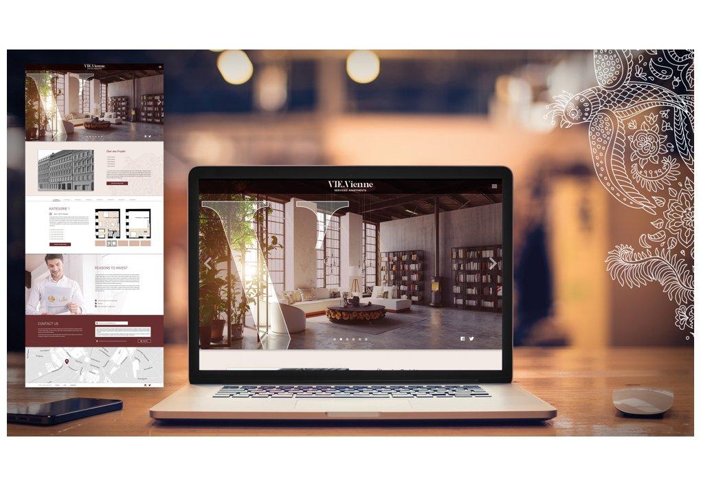 Website VIE.Vienne CORDES Werbeconsulting Agentur Wien