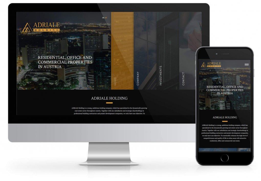 Adriale Website