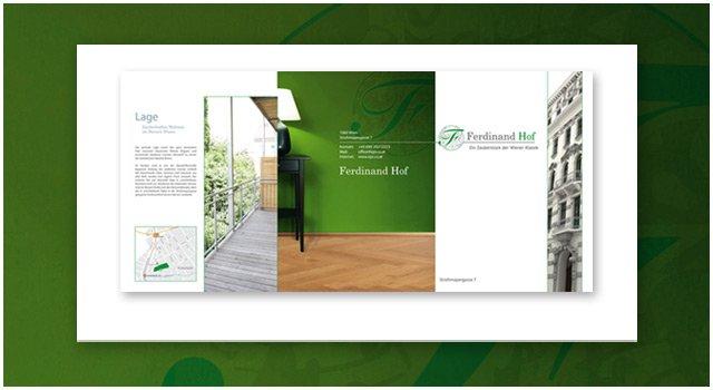 Gestaltung Folder Aussen