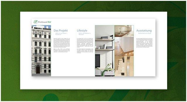 Gestaltung Folder innen