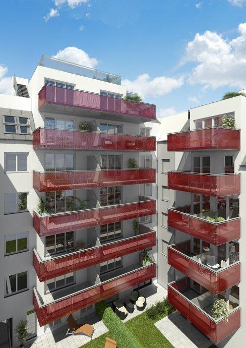 3D Hofansicht, Architektur in 3D, Hütteldorfer Straße 319, 1140 Wien
