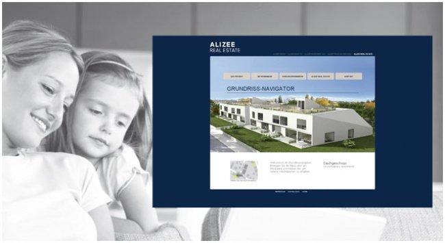 Umsetzung der Projektwebsite Draschestraße inkl. Grundriss-Navigator » Online ansehen