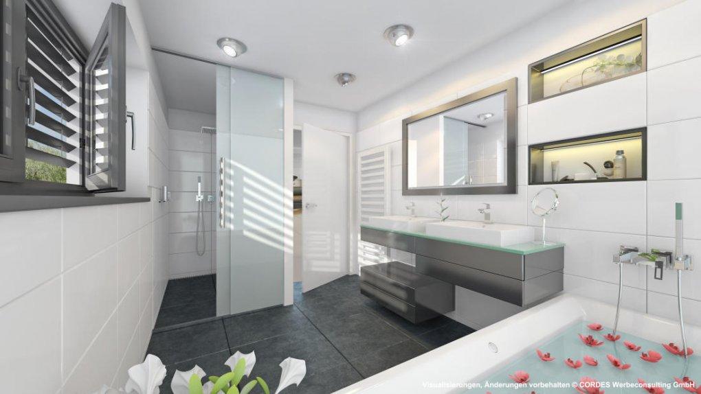 3D Visualisierung, Rendering, Innen Design Badezimmer