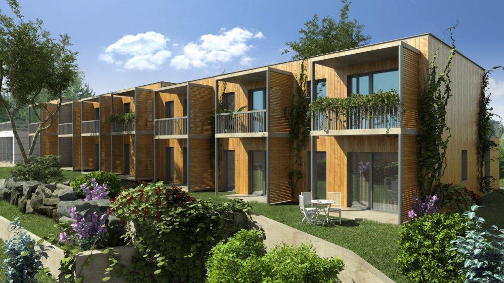 Projekt in Oberwölblink das Cohousing Pomali