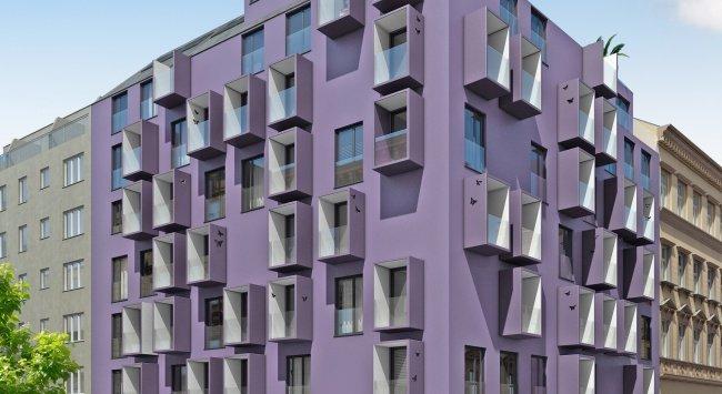 Davidgasse 8 3D Außen und 3D Innenansichten, Architektur in 3D, Renderings, 1100 Wien
