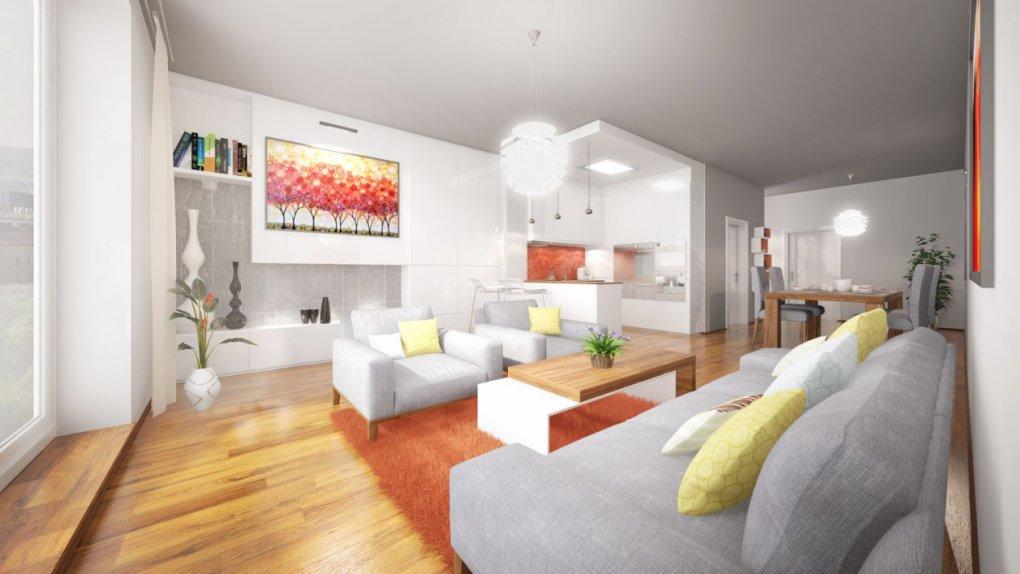 3D Visualisierungen Wohnzimmer