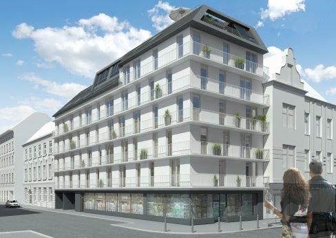 Architektur in 3D, Renderings, Hubergasse 19, 1160 Wien