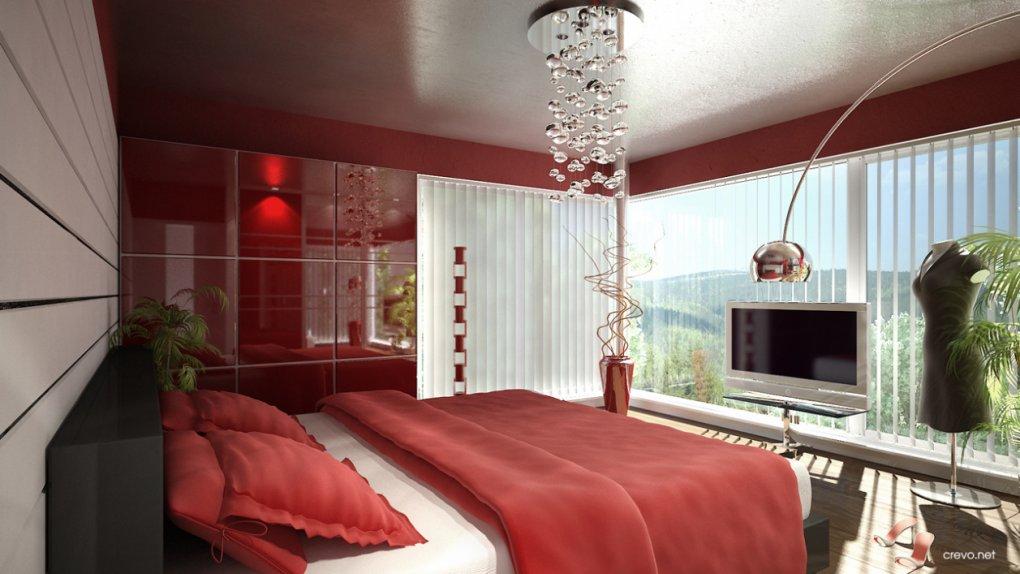 3D Innenvisualisierung Schlafzimmer Hackenbergweg 51