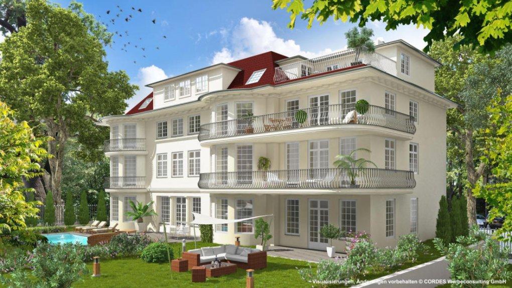 3D Hofseite, Außenvisualisierungen, Renderings, Architektur in 3D.