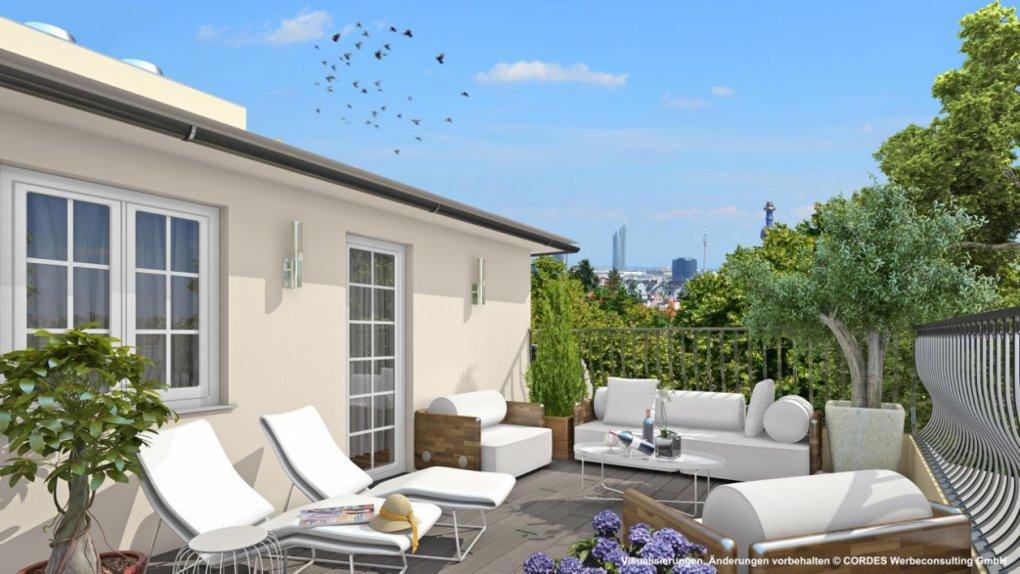 Terrasse 3D, Panorama Wien
