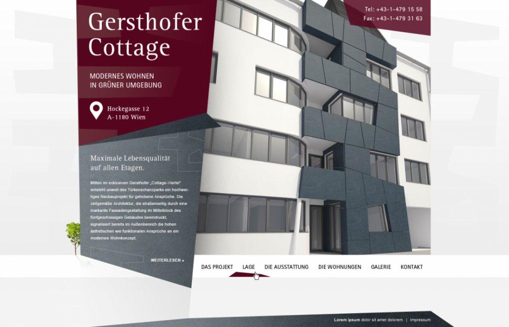 WEB-Screendesign