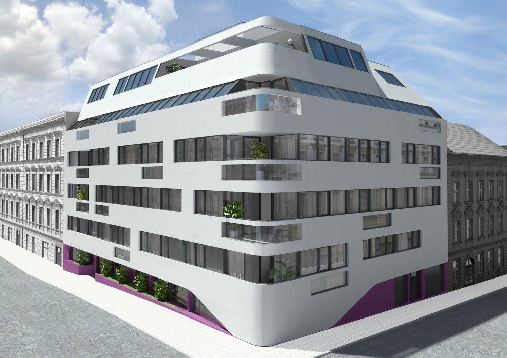Projekt HockegasseHockegasse | 3D Außenvisualisierung | Aussenansicht | Architektur in 3D