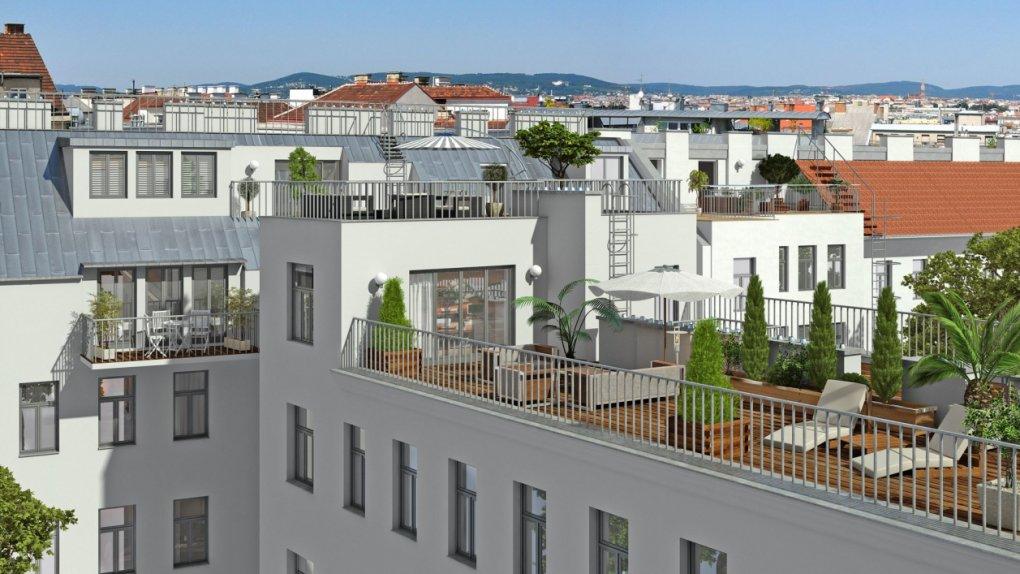 3D Außenvisualisierungen Terrasse