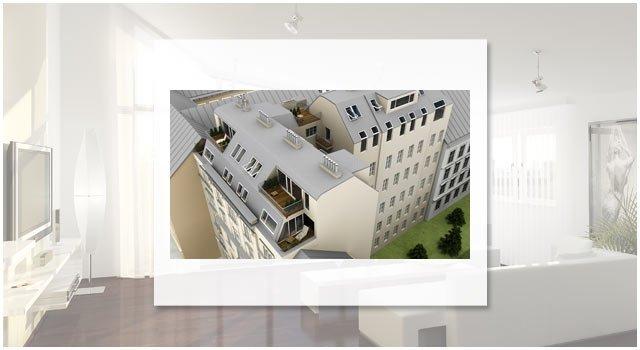 Projekt Graf StarhemberggasseGraf Starhemberggasse | Aussenvisualisierungen und Innenvisualisierungen für das Luxus-Pro