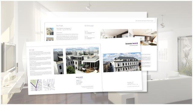Projekt JosefinengasseJosefinengasse | Folder und 3D-Visualisierungen für das Immowert Luxus-Projekt