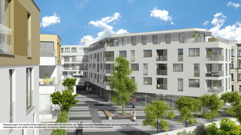 Projekt 1230 Wien, Kirchenplatz 3D Innenvisualisierung 3D Renderings 2013