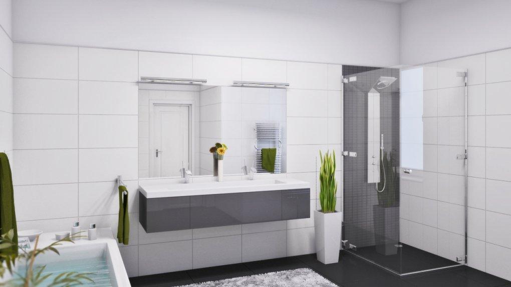 Badezimmer 3D Visualisierung