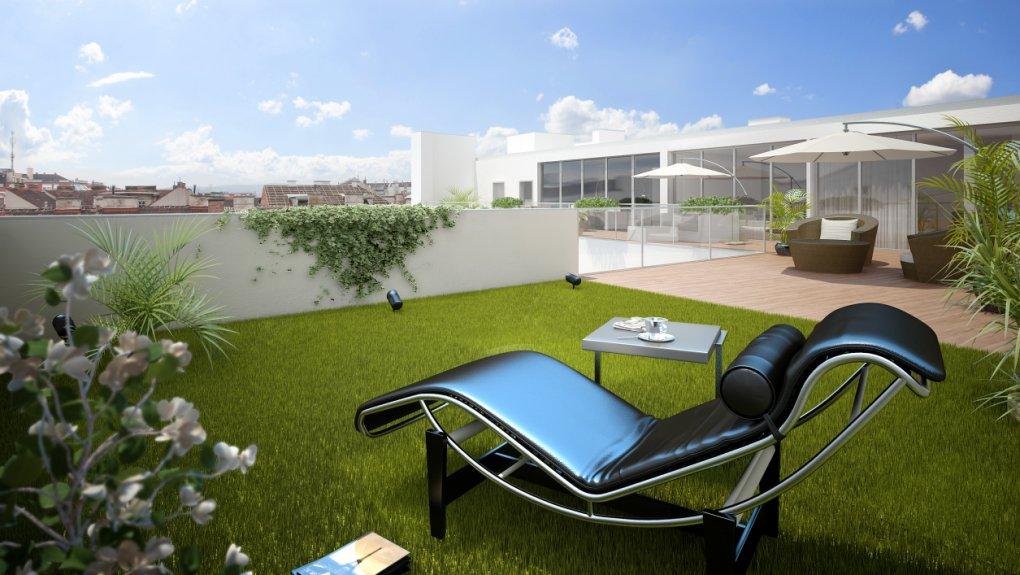 Terrassenansicht 3D
