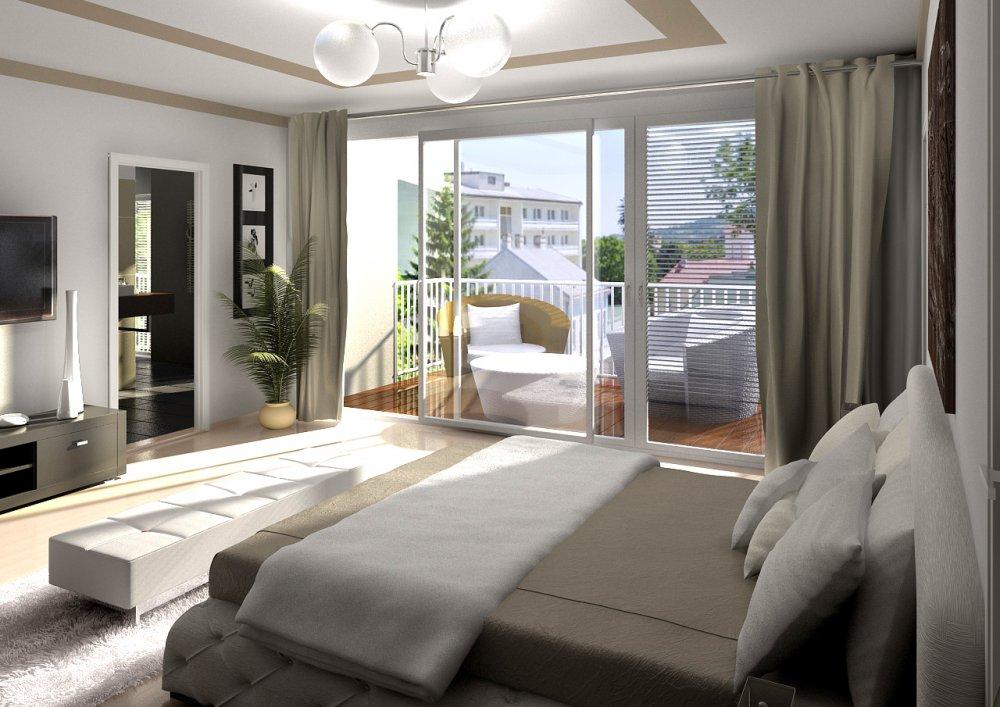 3D Innenvisualisierungen Schlafzimmer Mölkerhof