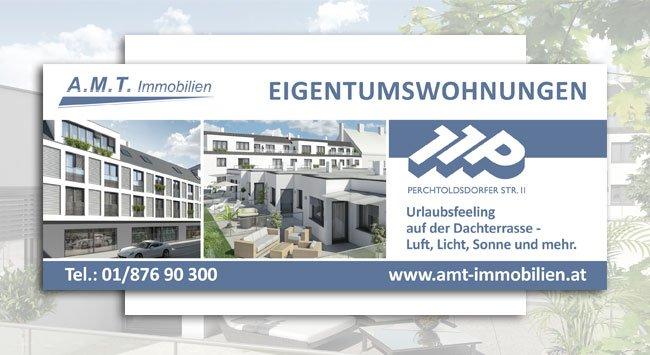 Werbebanner | Perchtolsdorferstraße 11