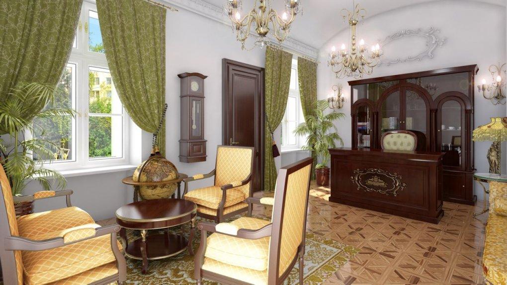 Interieur in 3D