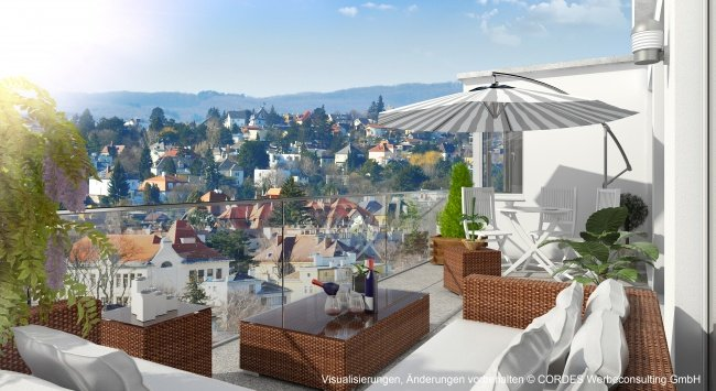 3D Terrasse, Architektur in 3D, Renderings