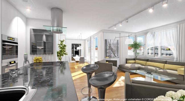 3D Innenansichten, Design in 3D, Renderings