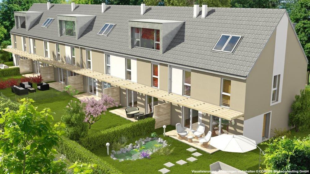 3D Außenperspetive, Rendering Immobilien-Projekt Stadlweg 42 3D Visualisierungen