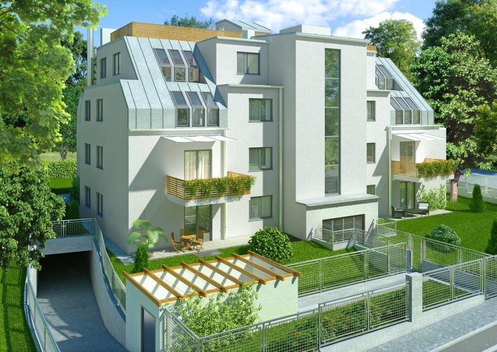 Projekt Unterer Schreiberweg 63Unterer Schreiberweg | 3D Visualisierung | Architektur in 3D, Renderings