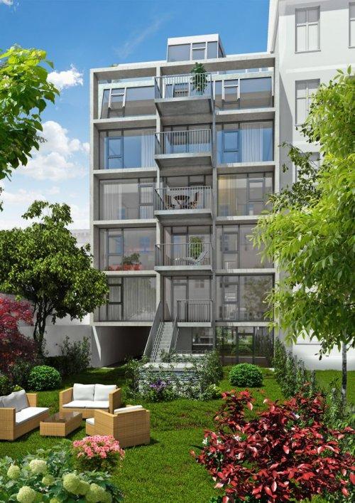 3D Renderings, Architektur in 3D, Immobilien-Projekt