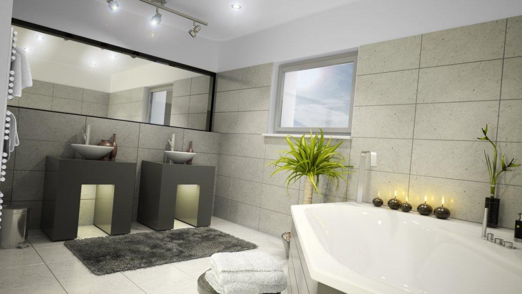 Welserstraße | 3D-Visualisierung - Badezimmer