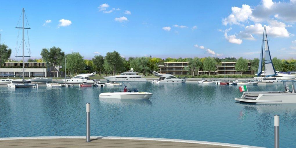 SEESTE Luxus Immobilien-Projekt in GRADO (Italien) Ausbaustufe I.