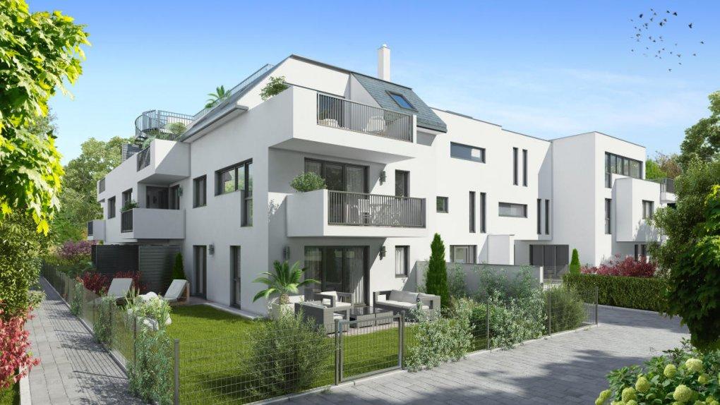 3D Visualisierungen Immobilienprojekt Himberg :: Immobilien Promotion Wien