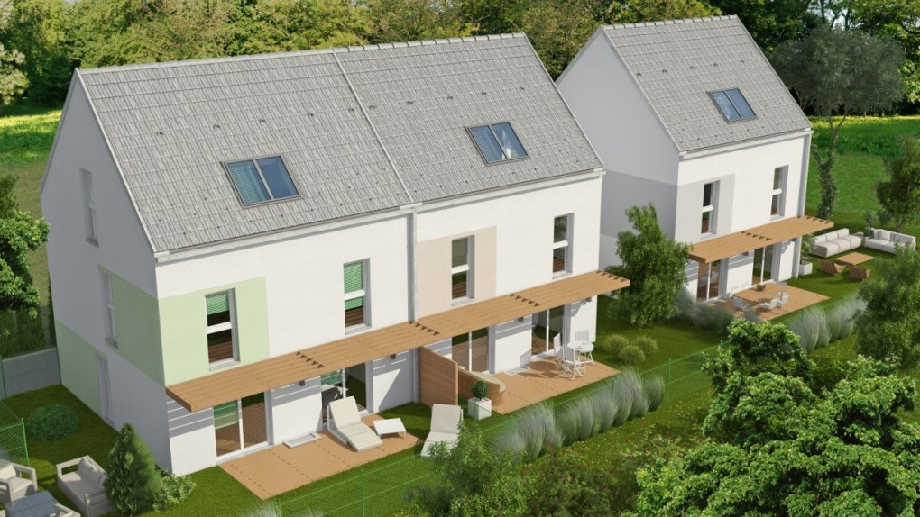 3D Außenvisualisierung Tulnerbachstrasse, Purkersdorf
