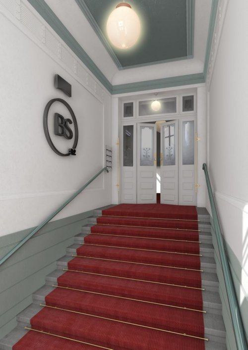 3D Rendering Lobby