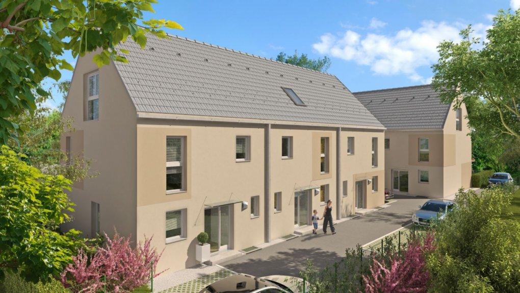 3D Rendering außen Immobilien-Projekt Dumreichergasse