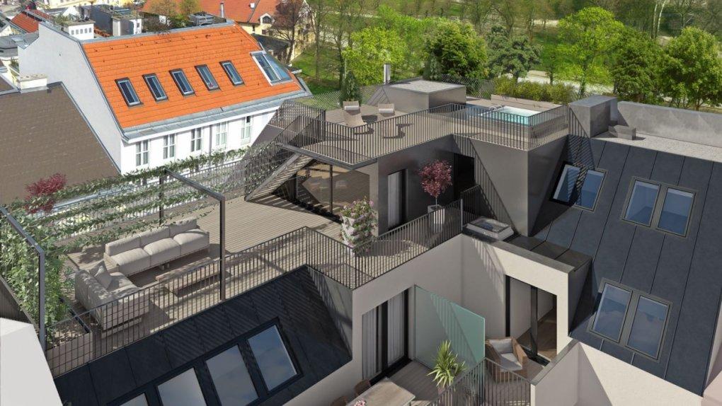 3D Rendering Terrasse