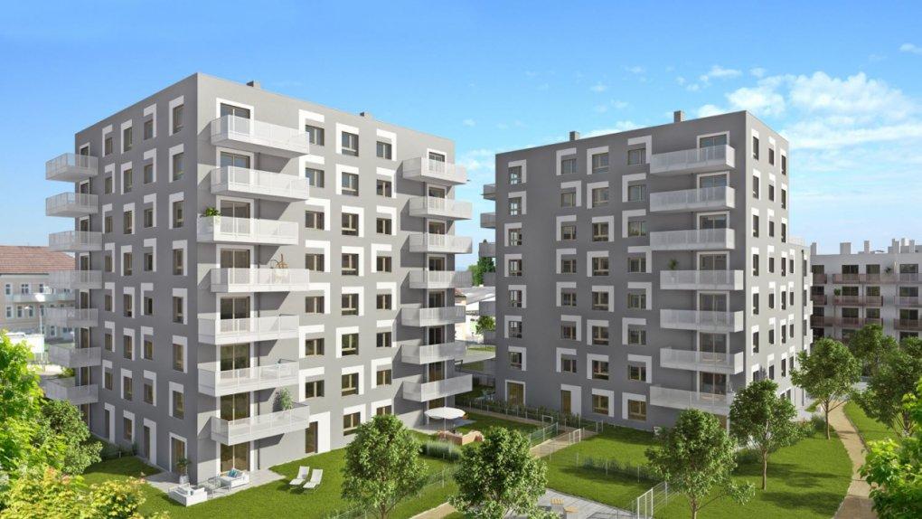 WVG :: 3D Visualisierung Immobilien-Projekt Malzstraße 2 u. 3, Schwechat