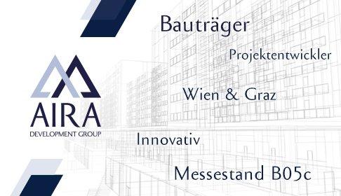 Anzeigengestaltung für AIRA Bauträger